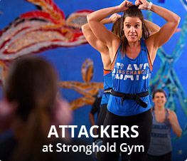 Attackers at Stronghold Gym