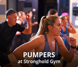 Pumpers at Stronghold Gym