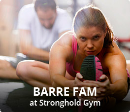 Barre Fam at Stronghold Gym